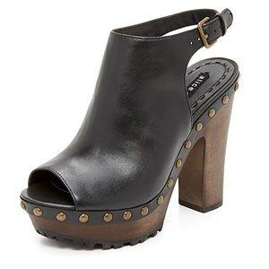🆕 ALICE + OLIVIA 'Sharon' Leather Platform Clogs